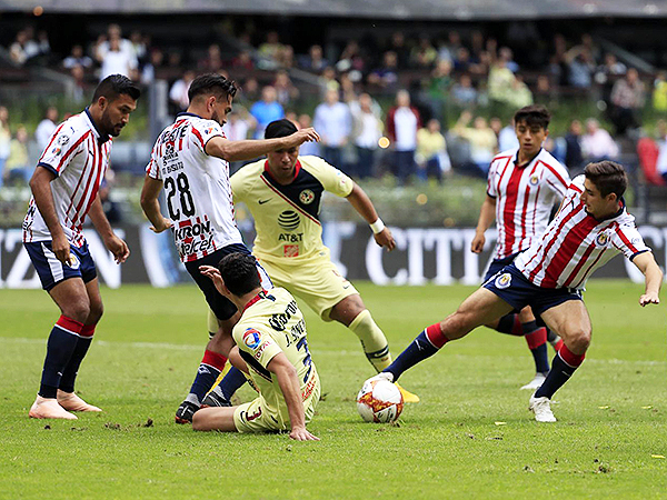 América - Guadalajara (Foto: Mexsport)