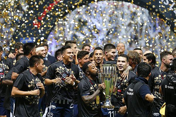 Monterrey hizo que México una vez más sea campeón de un torneo Concacaf. (Foto: AFP)