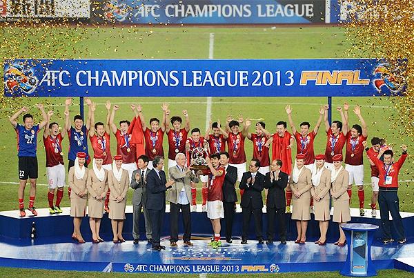 Guangzhou Evergrande puso el nombre de China en el plano internacional al imponerse en el torneo asiático (Foto: AFP)