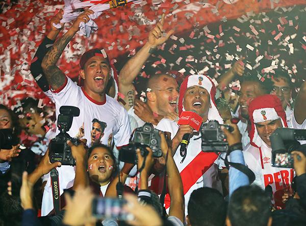 Estimado lector, créalo: Perú está en el Mundial. (Foto: Andina)