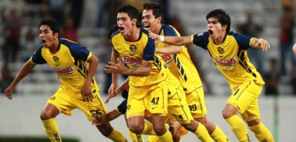 Como suele acostumbrarse a nivel de mayores, el fútbol mexicano tendrá representación en esta Libertadores Sub-20 con América, clasificado tras ganar el Torneo Apertura de su categoría (Foto: clubamericanista.com.mx)