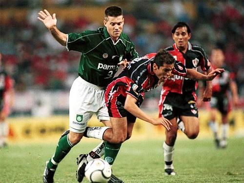 Atlas se encontró con una muralla al enfrentar a Palmeiras que fue quien lo eliminó del torneo (Foto: AFP)