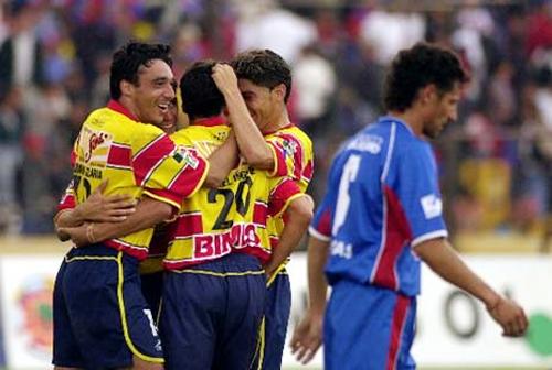 Morelia se anotó una gran goleada al vencer por 0-5 al Olmedo en Ecuador (Foto: AP)