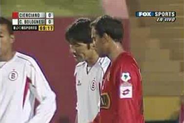 Miguel Mostto estuvo falto de compañía e hizo poco en el ataque tacneño ante su ex club (Captura: Fox Sports Americas)