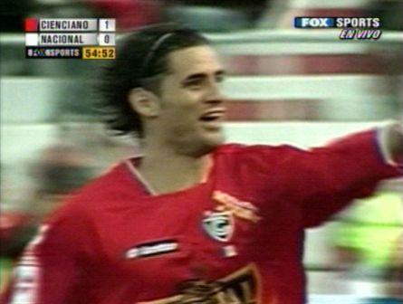 El goleador de la tarde robó pantallas a toda Latinoamérica (Captura: ANDINA / Fox Sports Americas)