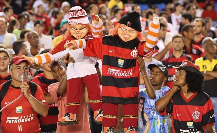 El terror del hinchaje de Flamengo provocó una presión extra para Cienciano (Foto: globo.com)