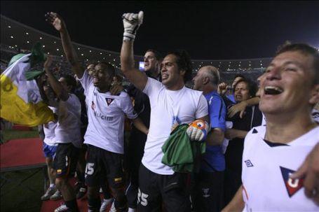 Celebra la Liga en el Maracaná: euforia total (Foto: EFE)