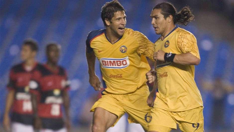 Cabañas fue el héroe americanista en la goleada 0-3 en el Maracaná. (Foto: AFP)