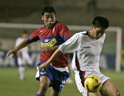 Luis Núñez, pese a no marcar, fue el más peligroso de la UC (Foto: EFE)