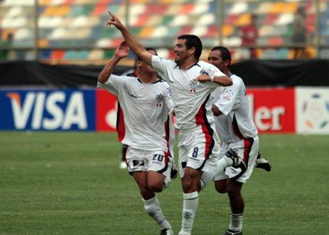 El argentino José Luis Díaz le hizo un gol de antología a River Plate (Foto: ANDINA)