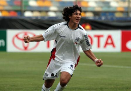 El paraguayo Roberto Ovelar se estrenó como goleador en el Deportivo San Martín (Foto: ANDINA)
