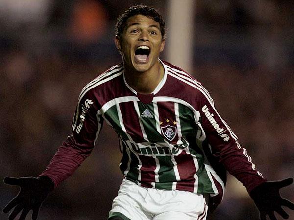 El tanto del zaguero Thiago Silva despertó anímicamente al 'Flu' con el parcial 1-1 (Foto: AP)