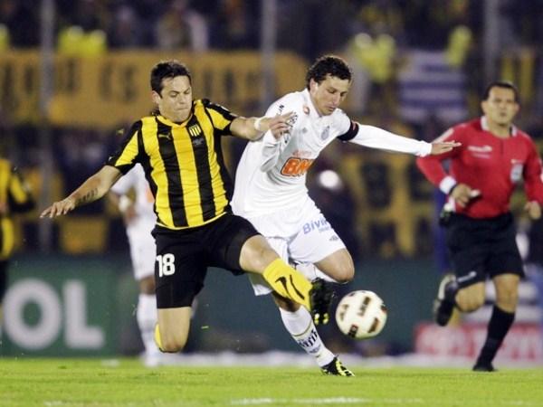 ESTA FINAL ES SUYA. Elano es una de las figuras de Santos y estandarte el cuadro paulista. El brasileño se quiere sacar la espina de la Libertadores 2003. (Foto: Reuters)