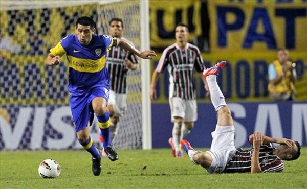 Juan Román Riquelme recuperó protagonismo esta temporada, al menos lo suficiente para volver a ser el guía de Boca (Foto: AP)