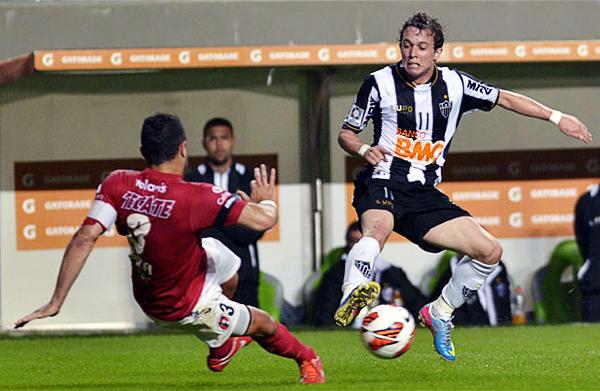 Atlético Mineiro acabó clasificando de forma opaca ante un Tijuana que le hizo más daño del esperado en ambos partidos (Foto: AFP)