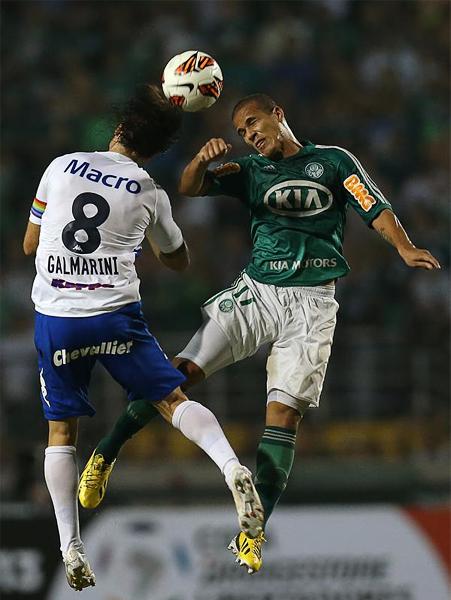 Palmeiras volvió a dar un paso hacia adelante en busca de superar la fase de grupos (Foto: AP)