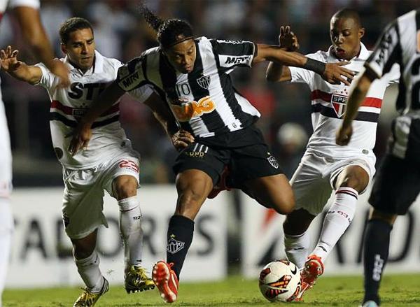 Mineiro y Sao Paulo ya se enfrentaron en la fase de grupos. Si bien el galo es favorito para ganar la llave, entre brasileños uno nunca sabe lo que puede pasar (Foto: AP)