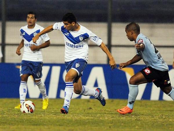 El sueño del Iquique en la Libertadores culminó ante un Vélez que se muestra como uno de los cuadros más fuertes del torneo (Foto: Agencia Uno)