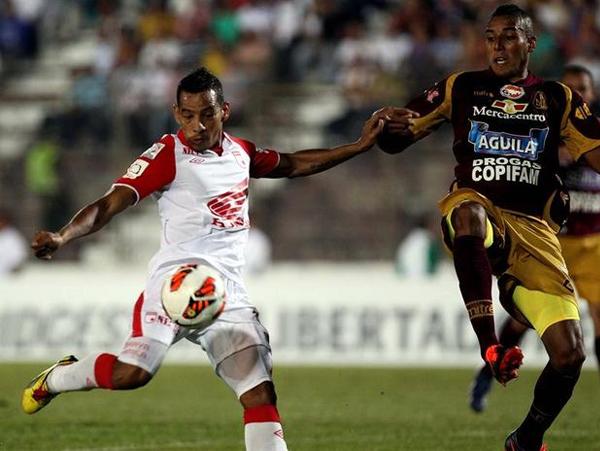 Una gran Copa Libertadores viene desarrollando el Santa Fe que con una fecha de anticipación selló su pase a la siguiente fase (Foto: EFE)