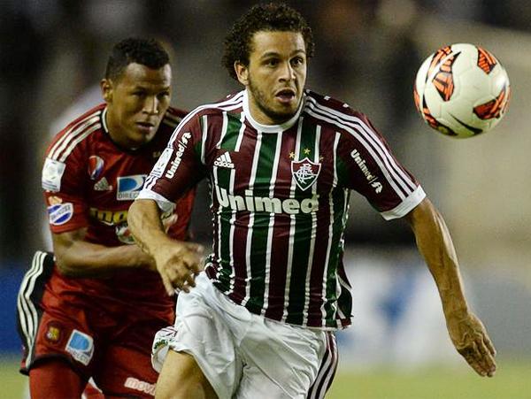 Un solo gol le bastó a Fluminense para imponerse al Caracas y asegurarse un lugar entre los mejores de la Libertadores (Foto: AFP)