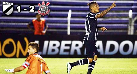 Corinthians, Danubio, Guerrero, Jadson, Felipe