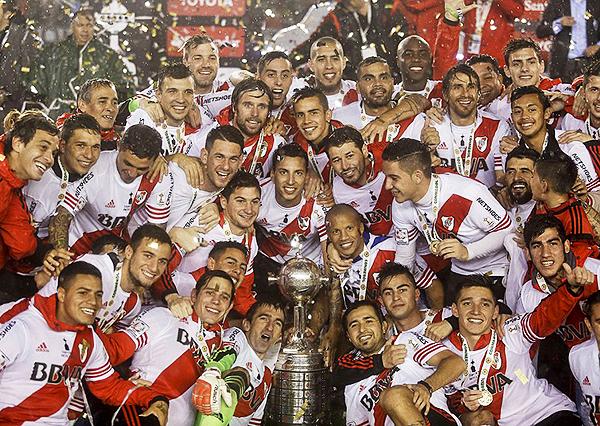 River fue superior a Tigres y logró el título de la Libertadores (Foto: AP)