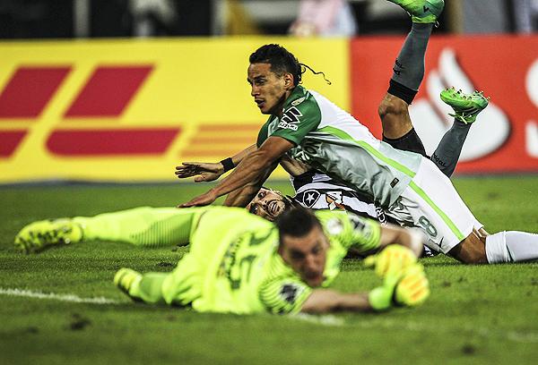 Pimpao determinó el triunfo de Botafogo ante Atlético Nacional. (Foto: AFP)