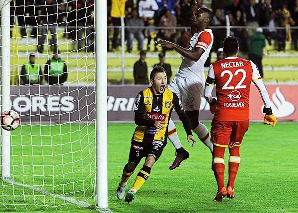 The Strongest ganó a Independiente Santa Fe y viene dando la hora en la Copa Libertadores (Foto: EFE)