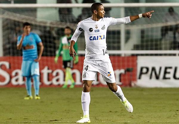 Santos se divirtió con un eliminado Cristal. (Foto: AFP)