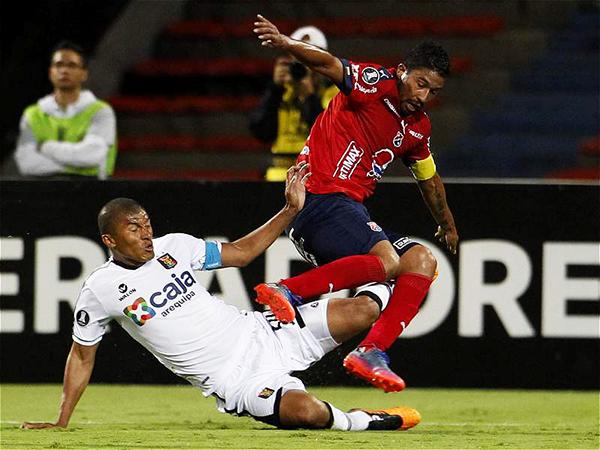 Melgar fue sometido con DIM. El cuadro arequipeño complicó sus aspiraciones en la Libertadores. (Foto: AFP)