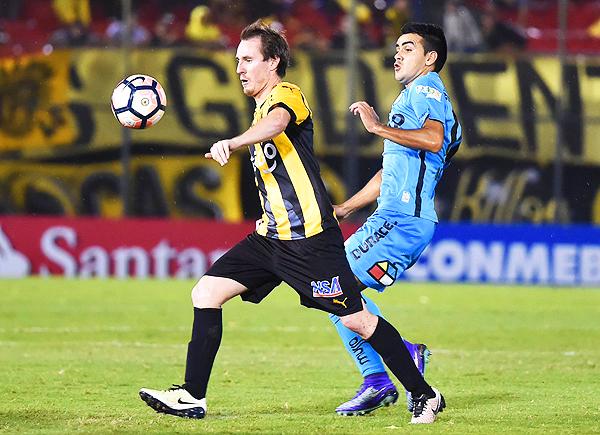 Un emocionante empate sin goles valió la clasificación de Guaraní. (Foto: AFP)