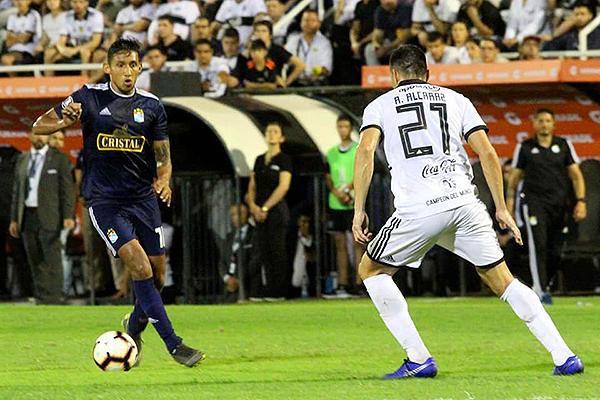 Aunque 'Canchita' Gonzales se perdió un gol clarísimo, tuvo una buena actuación. (Foto: Prensa Sporting Cristal)