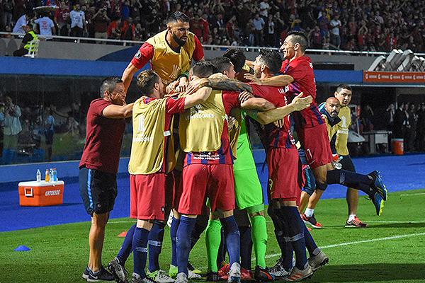 Cerro Porteño se impuso a Zamora por peso. (Foto: AFP)