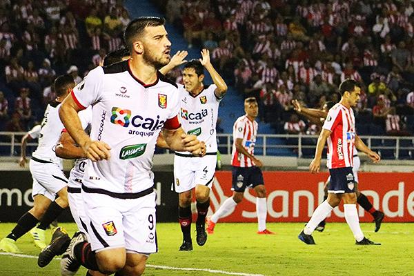 El gol de Cuesta le dio a Melgar el pase a la Sudamericana. (Foto: Prensa FBC Melgar)