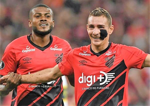 Ruben y su parche acapararon la atención y los goles en Curitiba. (Foto: Prensa Athlético Paranaense)