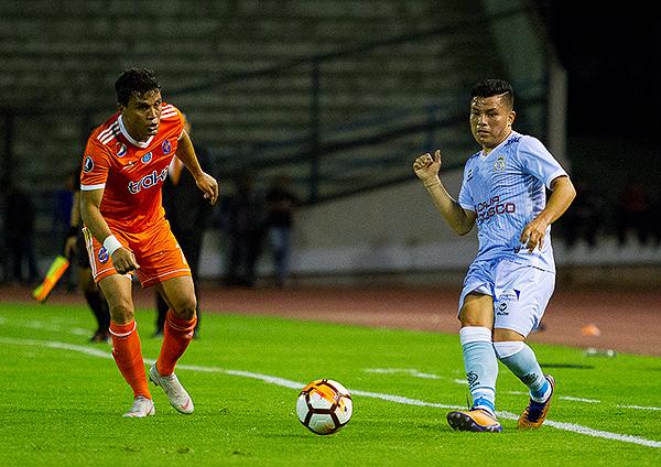Aunque podía disponer de 12 suplentes, Real Garcilaso solo presentó 7. A la antigua. (Foto: Ederik Palencia / Prensa Deportivo La Guaira)