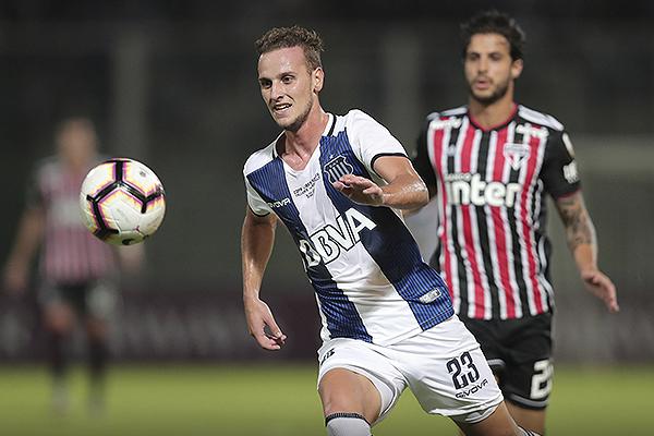 Tomás Pochettino fue el mejor de la cancha. Su gol lo consagró. (Foto: Prensa Atlético Tucumán)