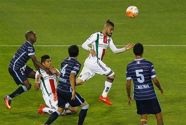 Después del gol, Palestino controló el trámite. (Foto: Redgol)