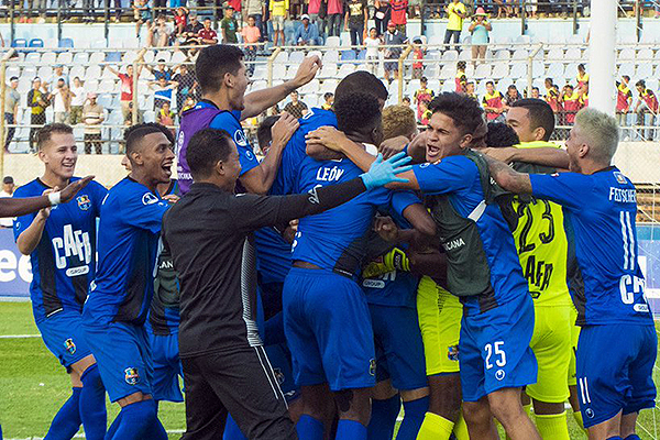De la manera más insólita, Zulia -pese a perder en los 90 minutos- ganó en la tanda de penales. (Foto: diario El Carabobeño)