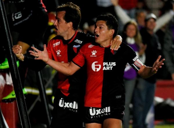 El éxtasis del querido 'Pulga' Rodríguez después de su gol en circunstancias inigualablemente emotivas. (Foto: Conmebol)