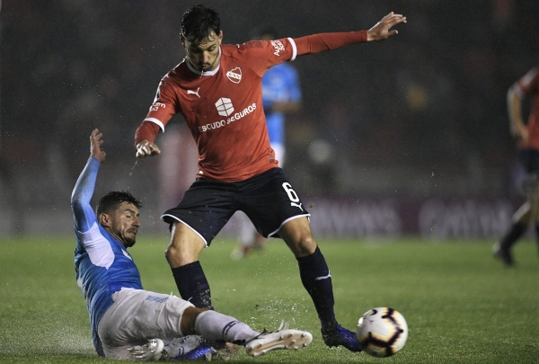 Sánchez Miño fue el encargado de iniciar la acción del gol rojo. (Foto: Prensa Independiente)