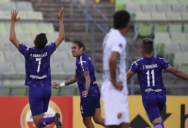 El tempranero gol de Bahachille hizo pensar que Melgar viviría una jornada oscura en Caracas. (Foto: AFP)