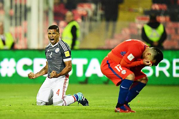 Chile 0 - Paraguay 3, indudablemente el resultado más duro para 'La Roja' en el proceso de Juan Antonio Pizzi. (Foto: AFP)