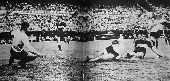 El gol 2000 a cargo de Zárate. River aplastó a Boca. (Foto: Facebook)