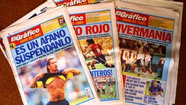 El diario El Gráfco está próximo a su lanzamiento. No guarda ninguna relación con la revista, detalle que podría generar confusión en el medio (Foto: enunabaldosa.com)
