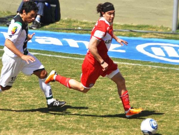 BOSTEZOS. San Martín y Argentinos Juniors protagonizaron el partido más aburrido de la quinta jornada del fútbol argentino. Un empate sin goles en San Juan que causó varios bostezos. (Foto: La Nación)