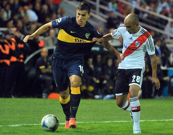 Con tres ediciones del clásico argentino durante los Torneos de Verano, River y Boca tendrán una nueva ocasión en el primer semestre de saldar cuentas futbolísticas (Foto: Télam)