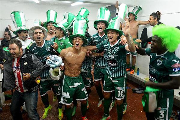 Un empate fue suficiente para que el Sarmiento de Junín logre su ascenso a la máxima categoría en Argentina (Foto: Telam)