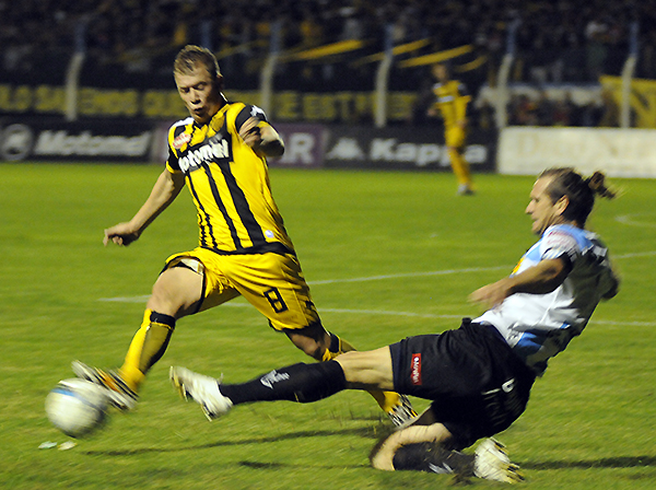 El 'Pitu' González regreso al Santamarina y destacó. (Foto: eleco.com.ar)
