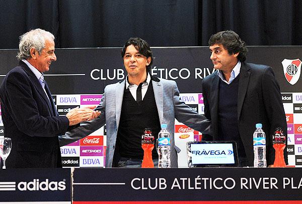 Marcelo Gallardo fue presentado como DT de River en 2014. (Foto: Diario Época)